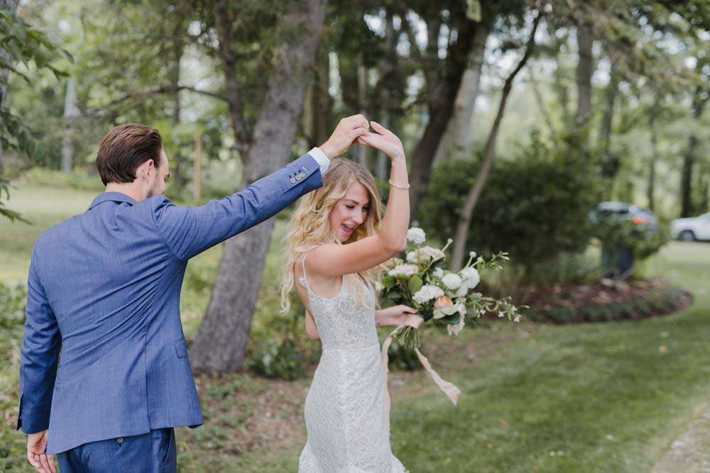 A Whimsical Wedding at Windmill Point, Ontario - Dancing