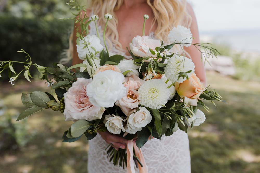 A Whimsical Wedding at Windmill Point, Ontario - Flowers