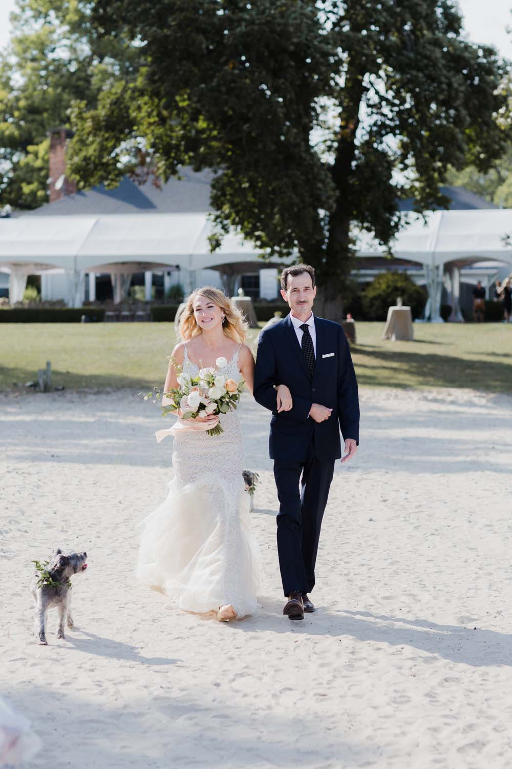 A Whimsical Wedding at Windmill Point, Ontario - Beachside