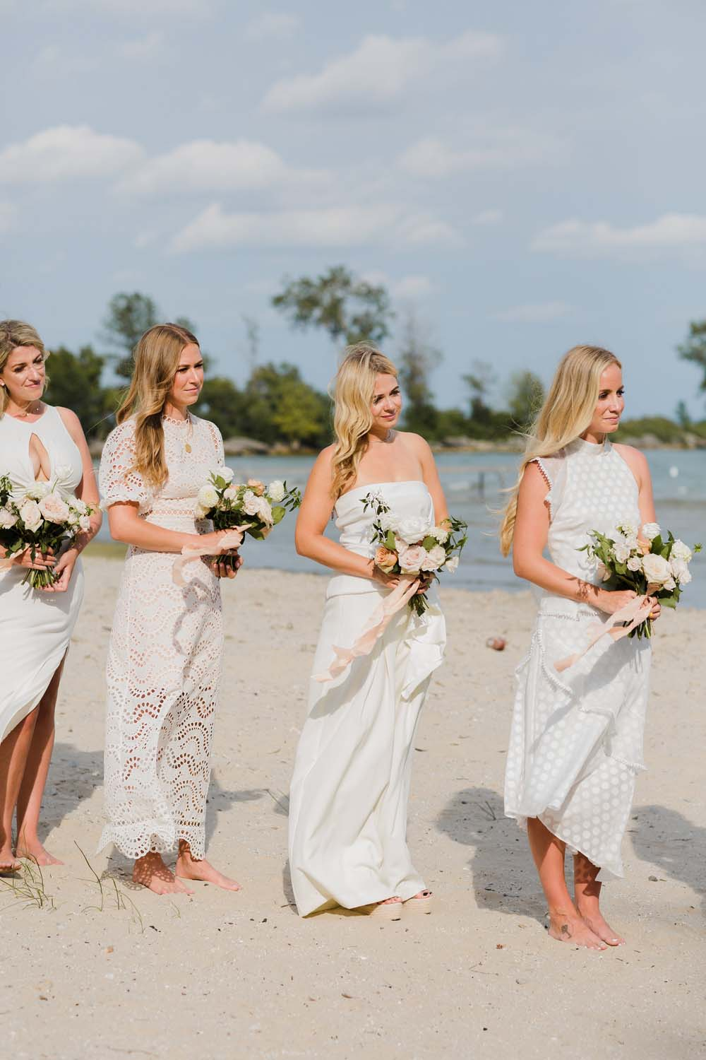 A Whimsical Wedding at Windmill Point, Ontario - Bridal Party