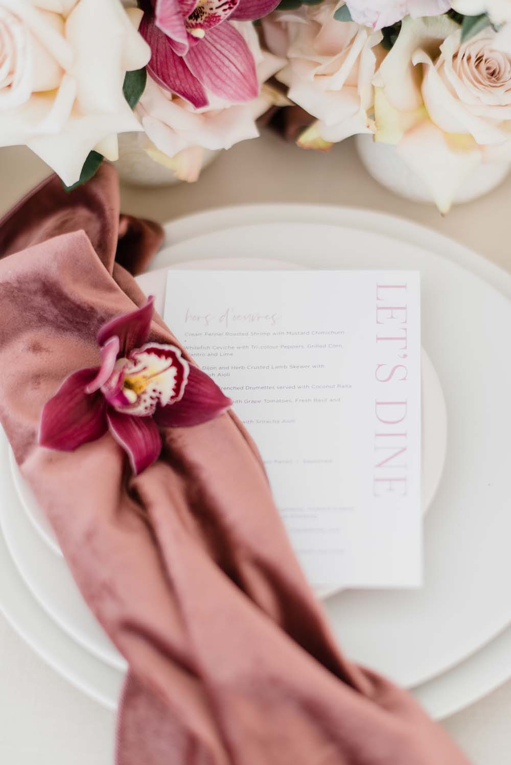 A Colourful Pink & Mauve Styled Shoot At The Art Gallery of Hamilton - Stationery