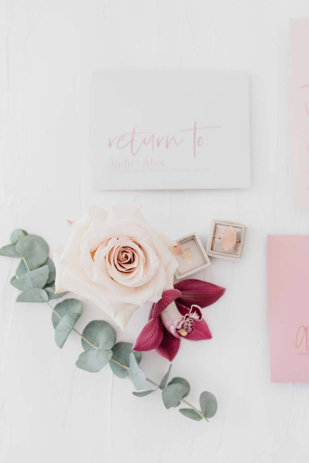 A Colourful Pink & Mauve Styled Shoot At The Art Gallery of Hamilton - Ring