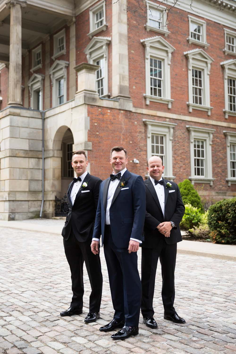A Modern Wedding At The Great Hall In Toronto - Grooms party