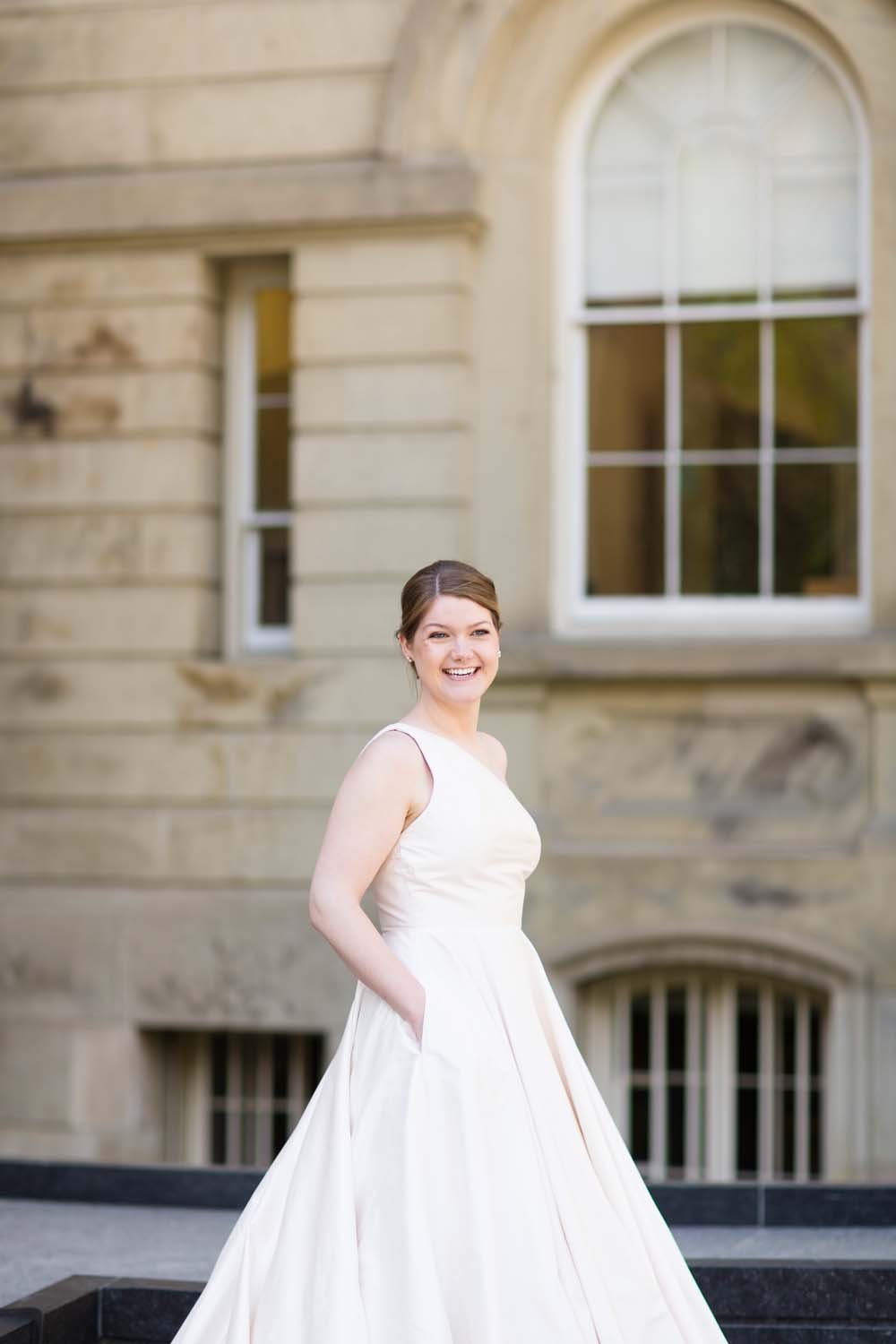 A Modern Wedding At The Great Hall In Toronto - bride