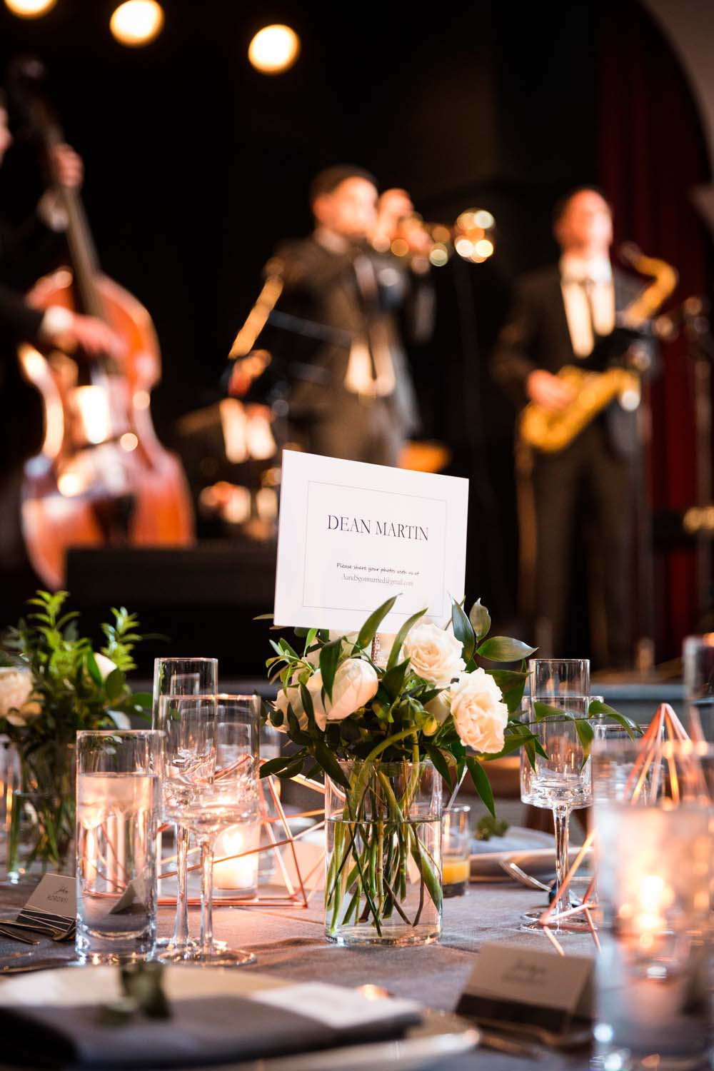 A Modern Wedding At The Great Hall In Toronto - tablescape
