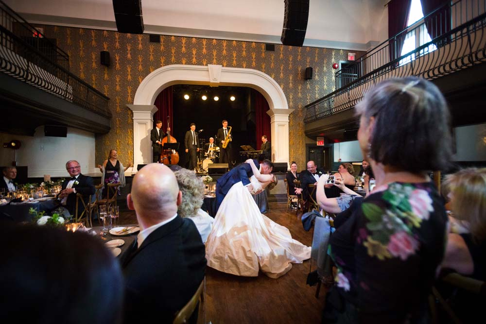 A Modern Wedding At The Great Hall In Toronto - dancing