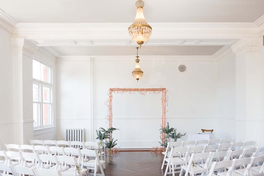 A Modern Wedding At The Great Hall In Toronto - decor