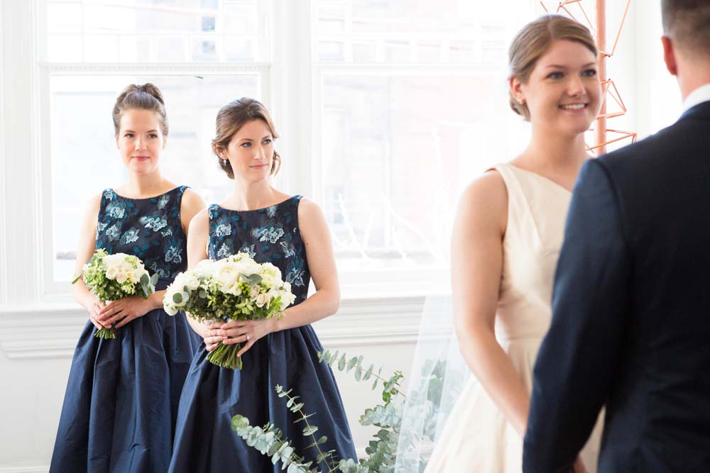 A Modern Wedding At The Great Hall In Toronto - bridesmaids
