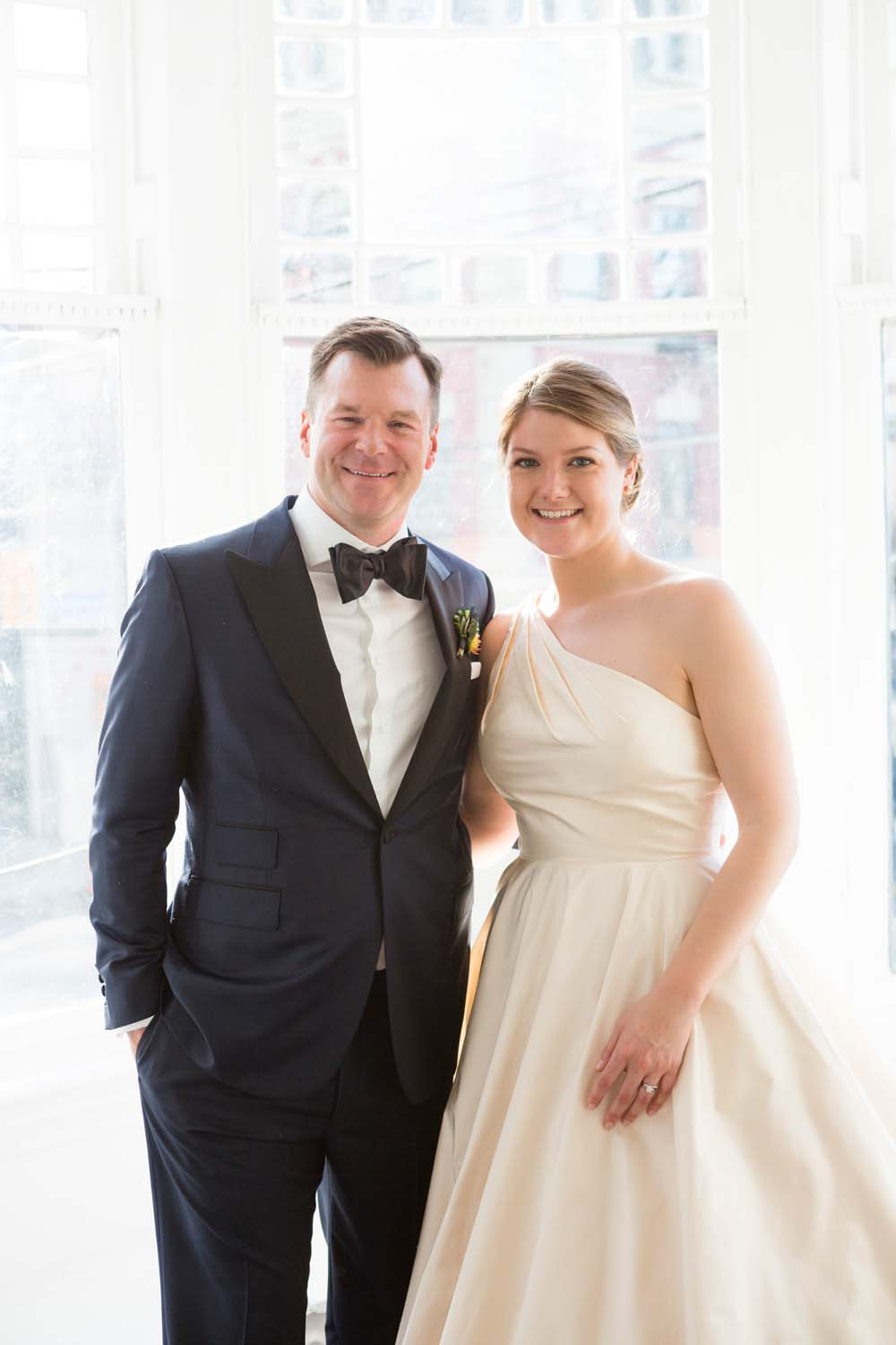 A Modern Wedding At The Great Hall In Toronto - couple