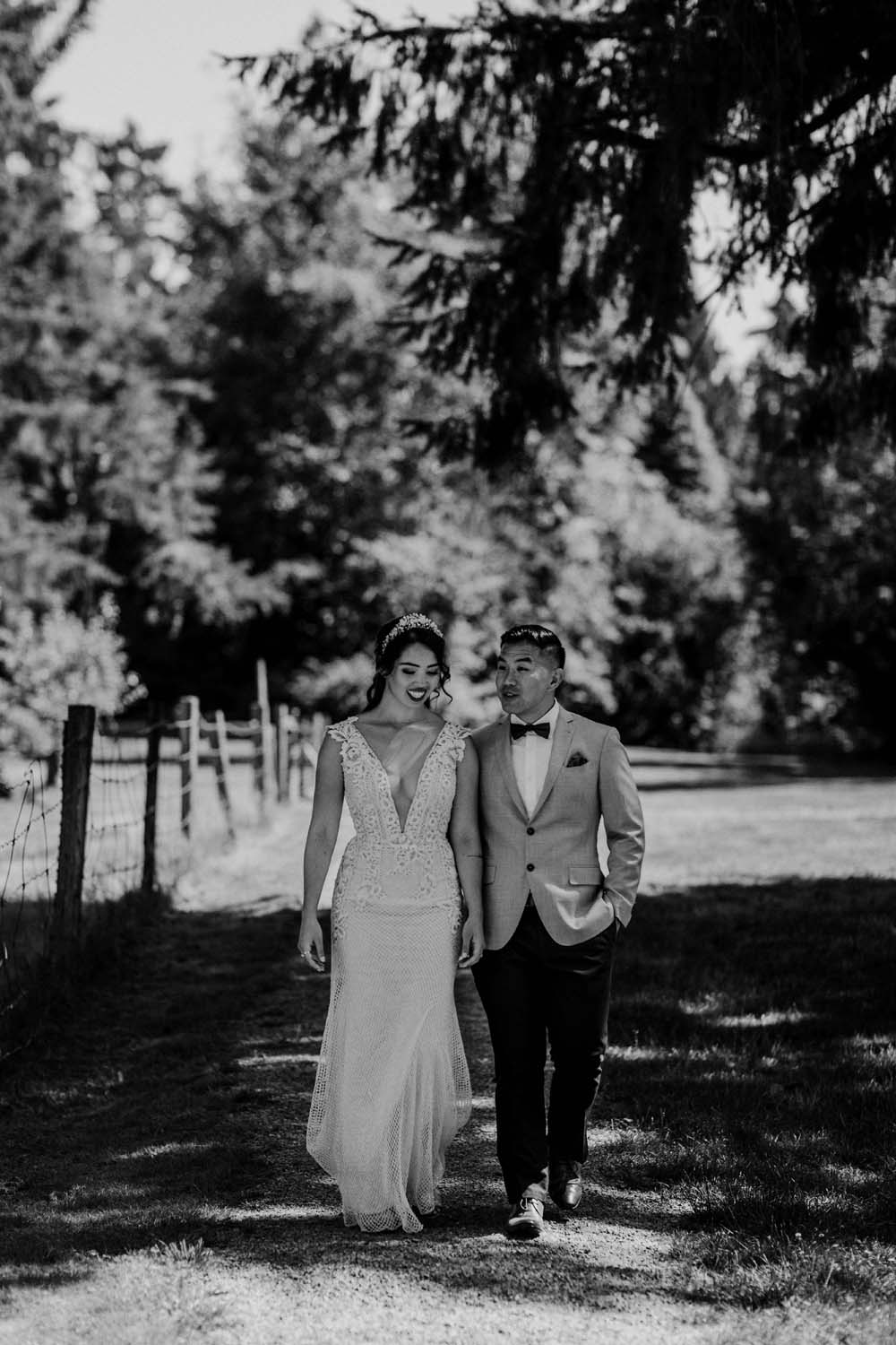 A Romantic and Ethereal Celebration in Fort Langley, BC - couple
