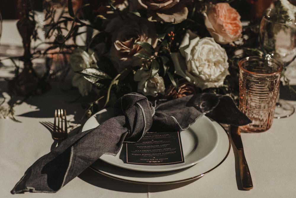 A Romantic and Ethereal Celebration in Fort Langley, BC - plate