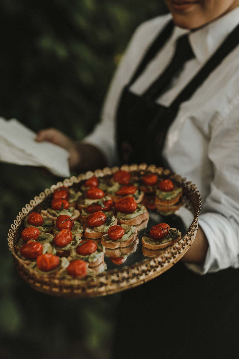 A Romantic and Ethereal Celebration in Fort Langley, BC - food
