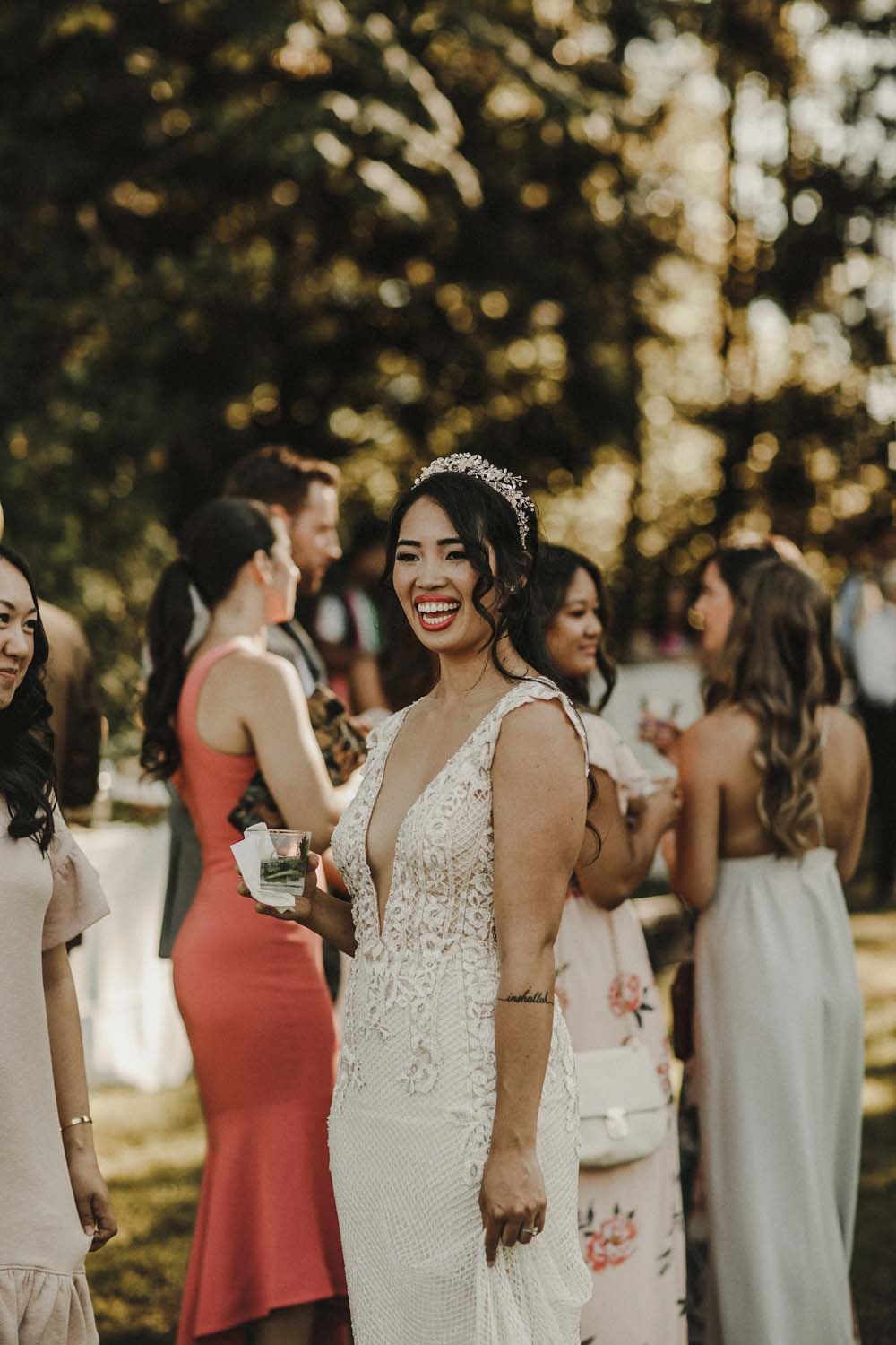 A Romantic and Ethereal Celebration in Fort Langley, BC - bride