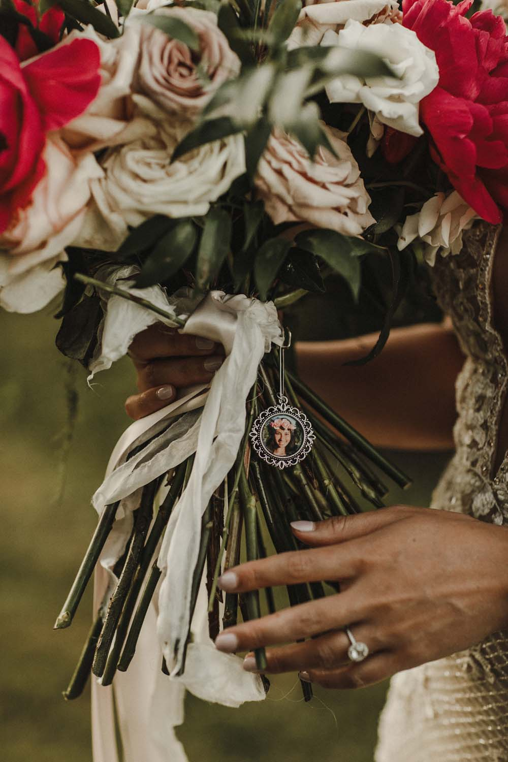 A Romantic and Ethereal Celebration in Fort Langley, BC - flowers