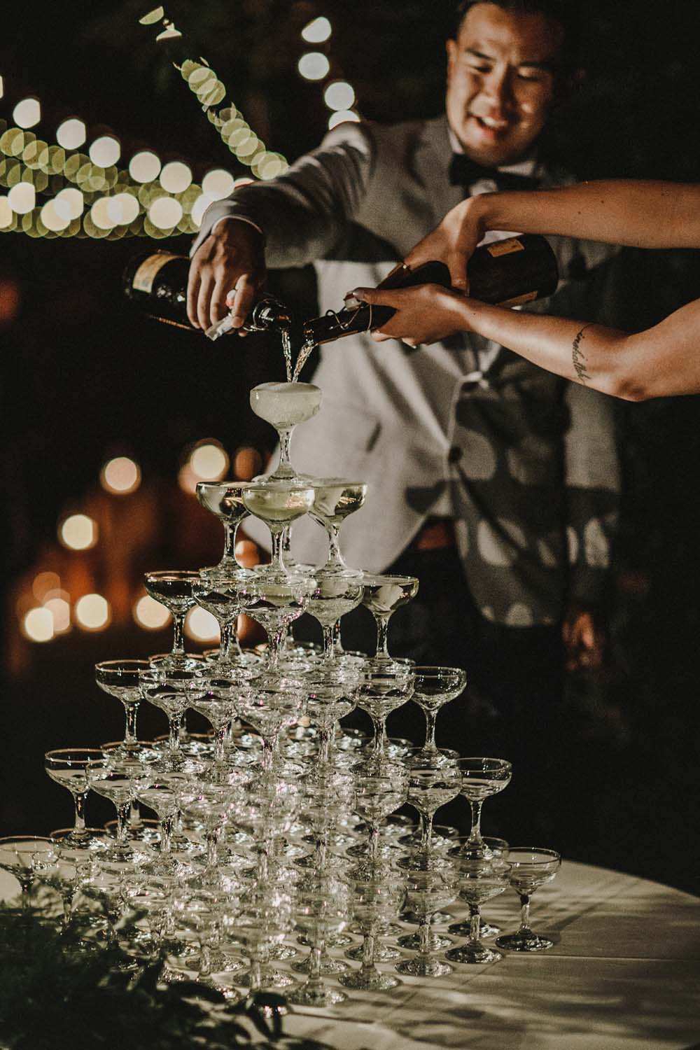 A Romantic and Ethereal Celebration in Fort Langley, BC - glass