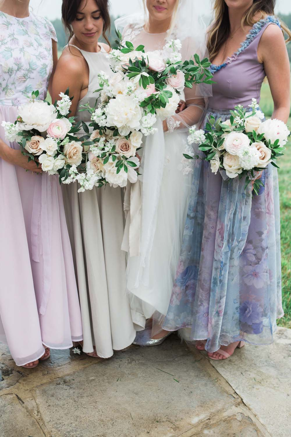 A Rustic Celebration at the Willibald Farm Distillery in Ayr, Ontario - Bridal Party