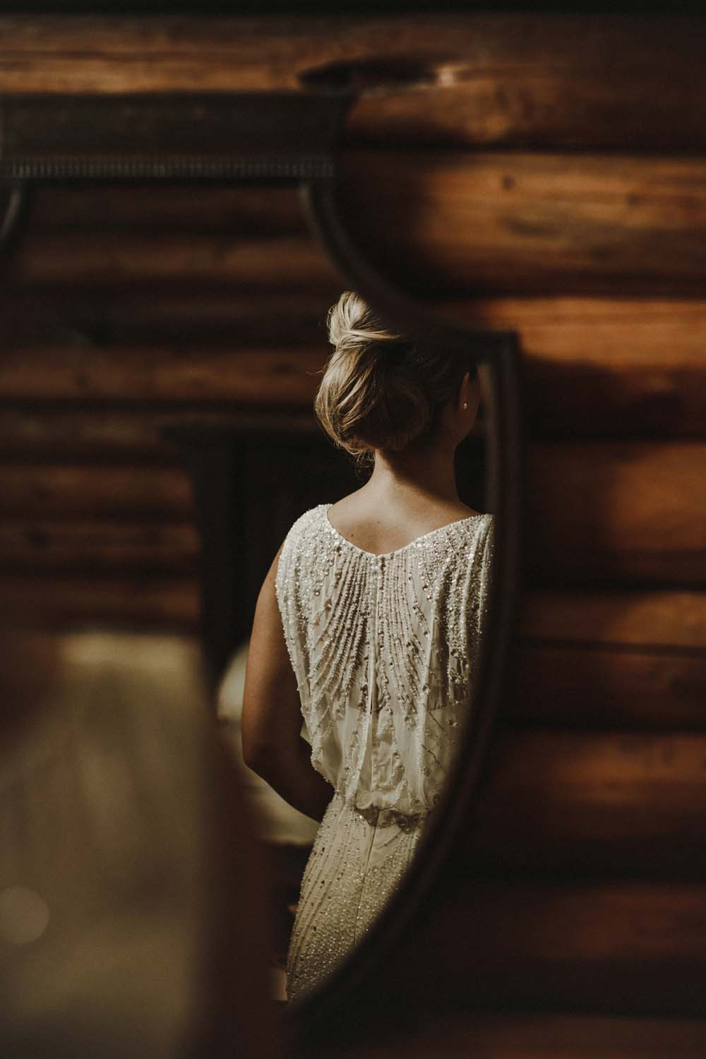 A Scandinavian-Inspired Wedding in British Columbia - Bridal Gown