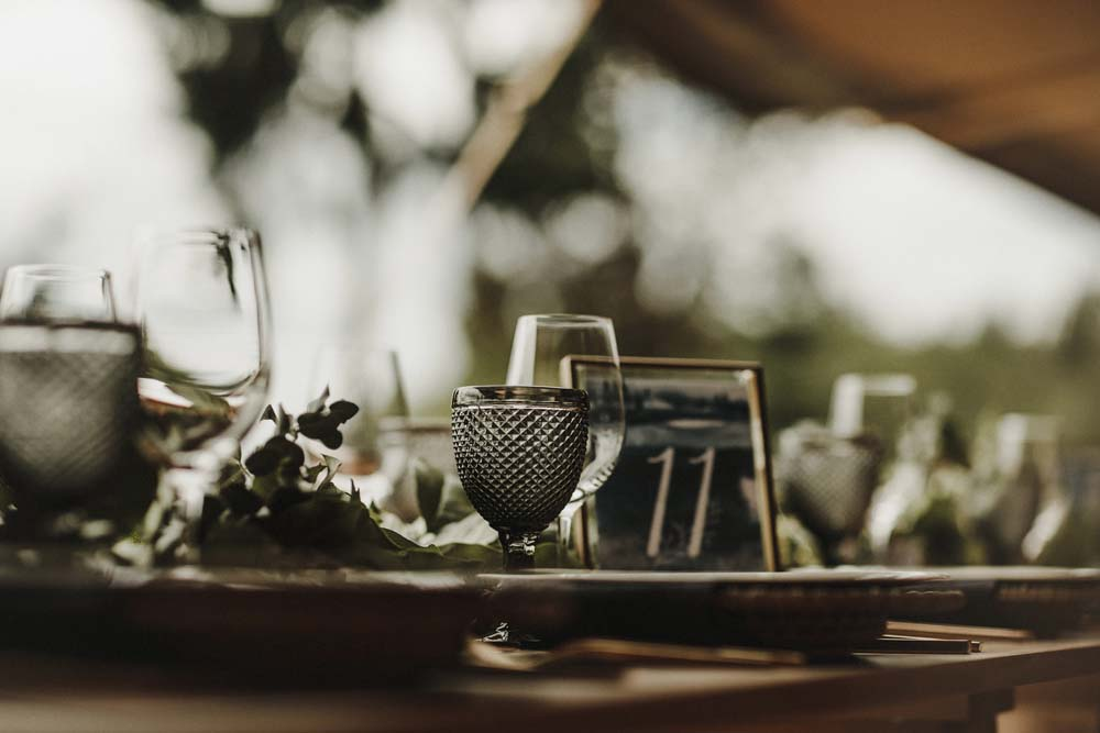 A Scandinavian-Inspired Wedding in British Columbia - Table Numbering
