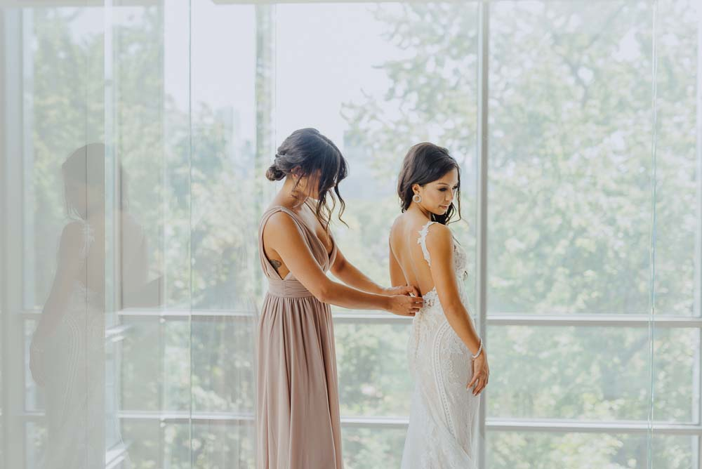 An Opulent Wedding At The Royal Conservatory Of Music - Bride