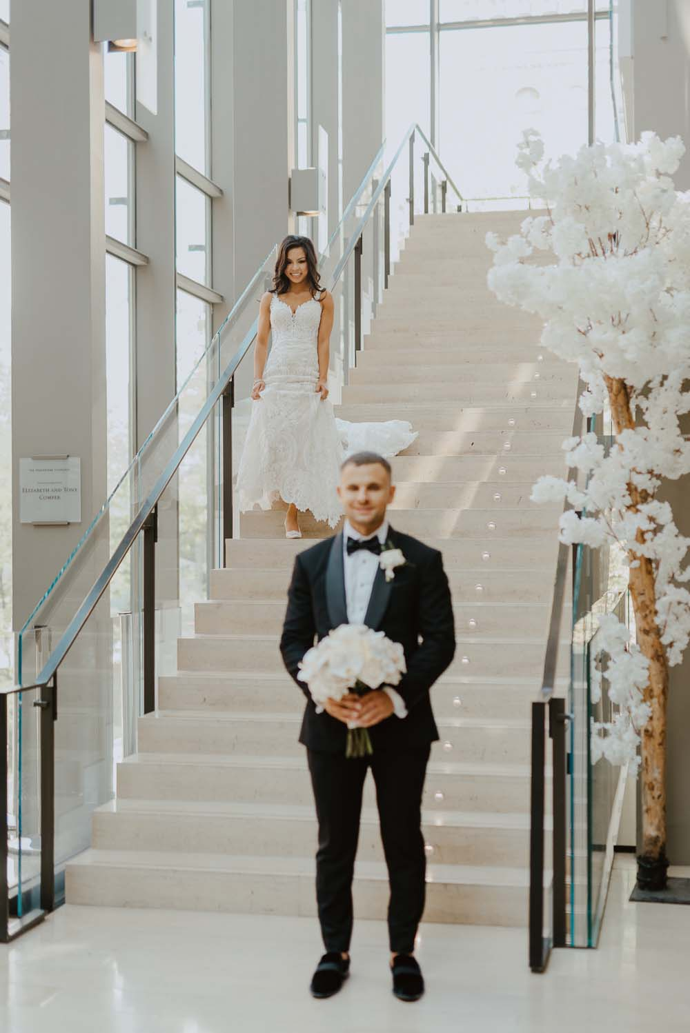 An Opulent Wedding At The Royal Conservatory Of Music - first look