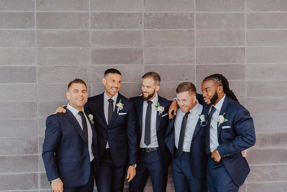 An Opulent Wedding At The Royal Conservatory Of Music - groomsmen