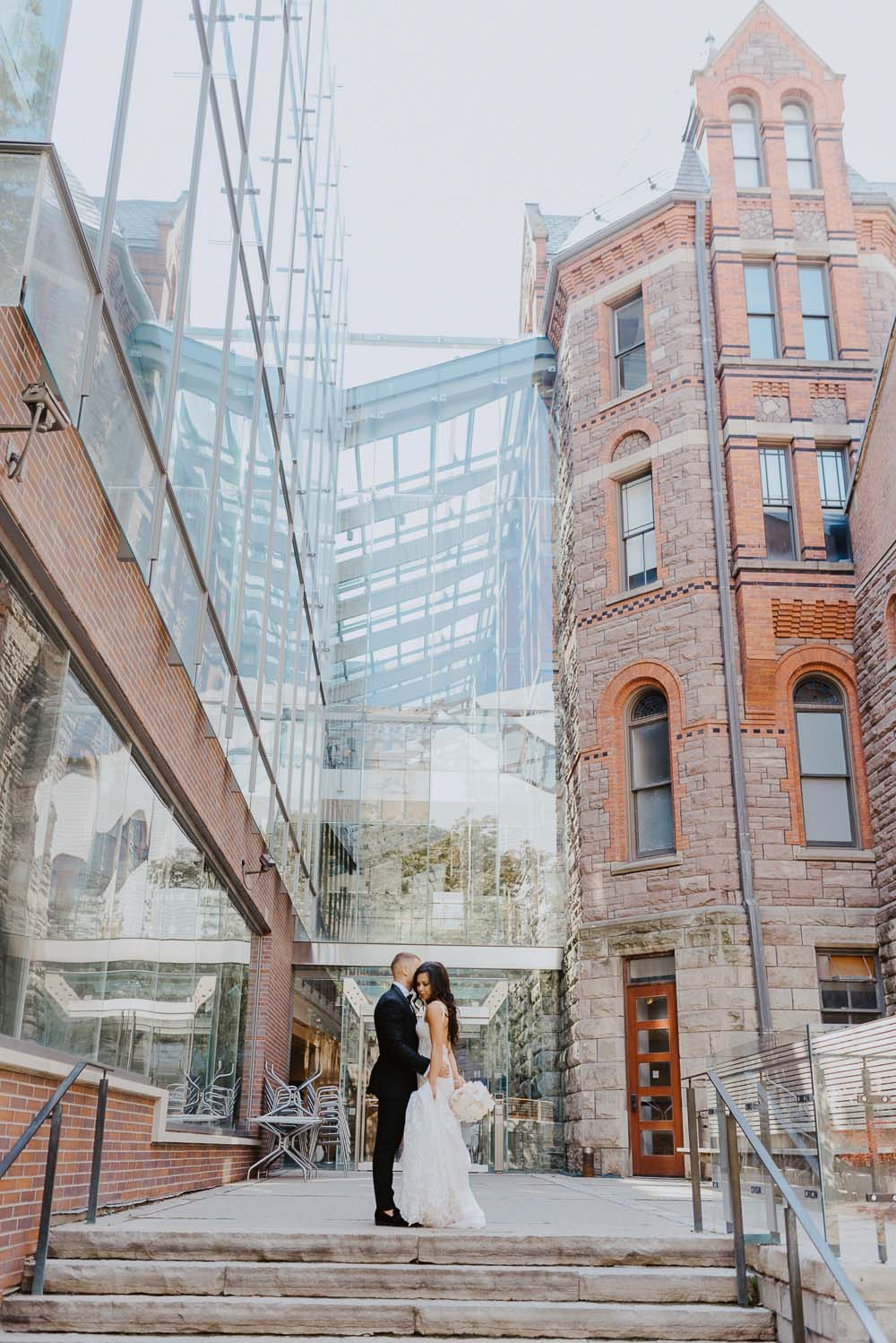 An Opulent Wedding At The Royal Conservatory Of Music - couple