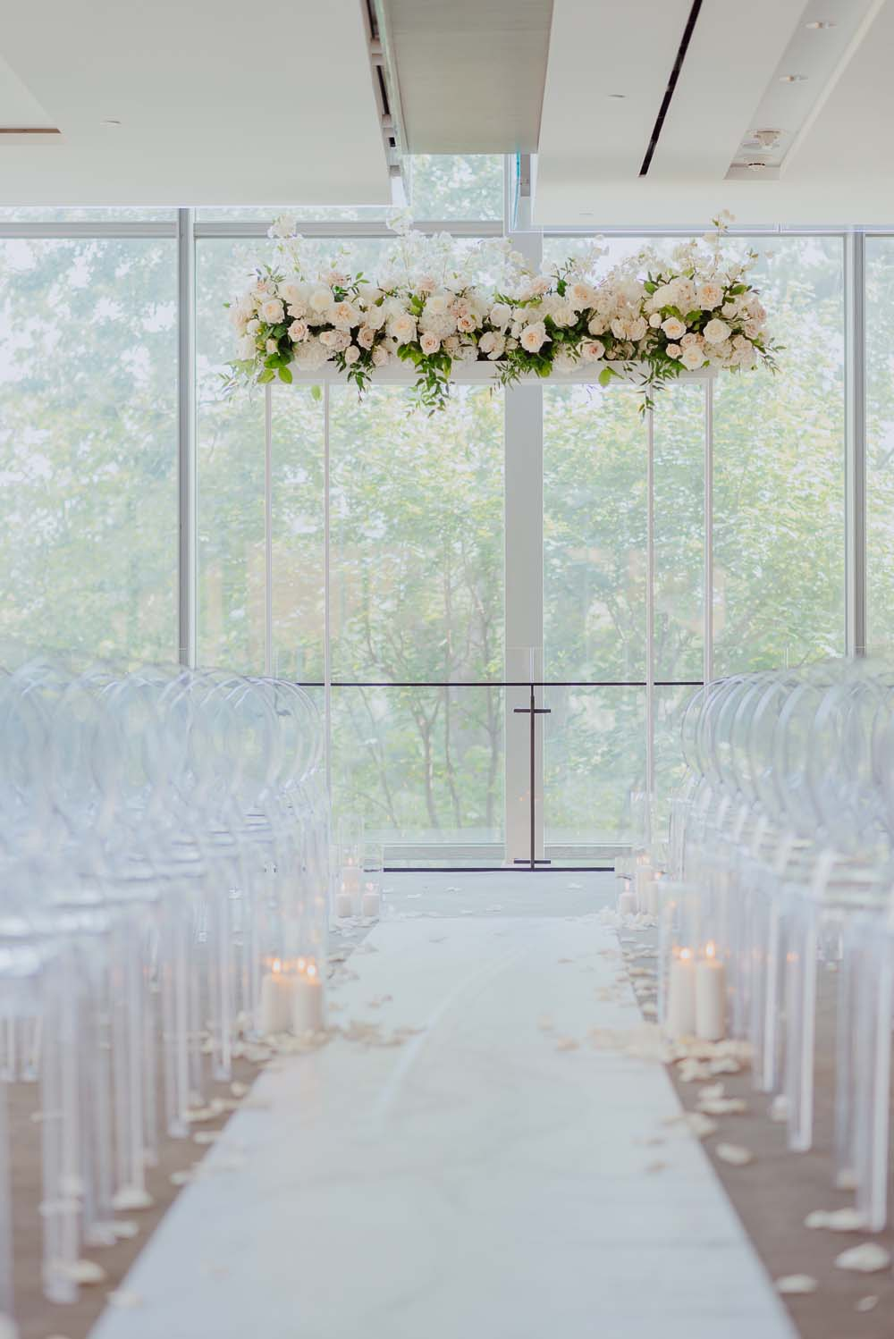 An Opulent Wedding At The Royal Conservatory Of Music - aisle