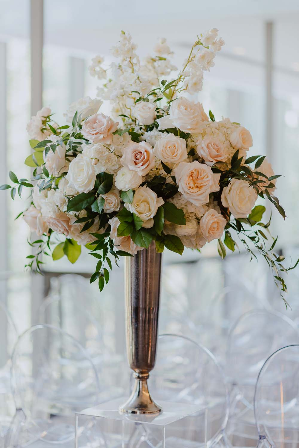 An Opulent Wedding At The Royal Conservatory Of Music - flowers