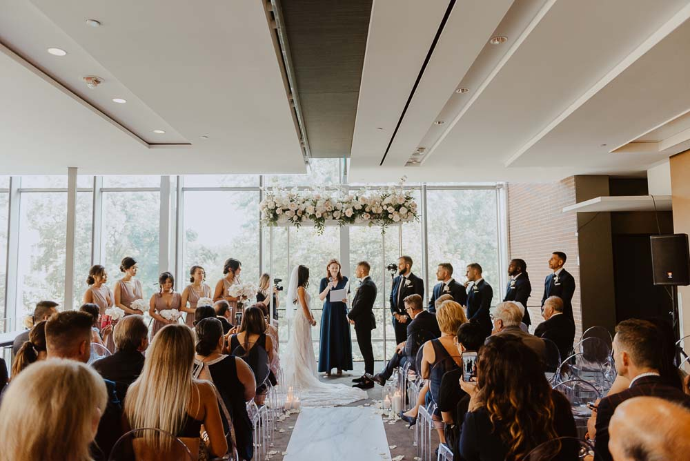 An Opulent Wedding At The Royal Conservatory Of Music - vows