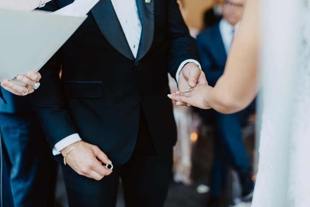 An Opulent Wedding At The Royal Conservatory Of Music - ring