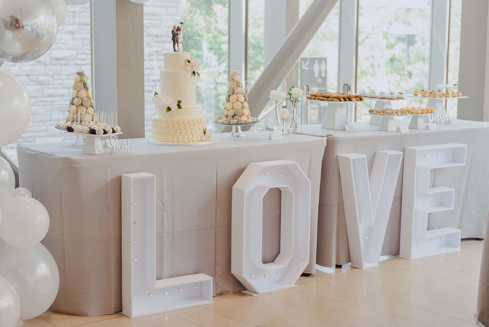 An Opulent Wedding At The Royal Conservatory Of Music - treats table