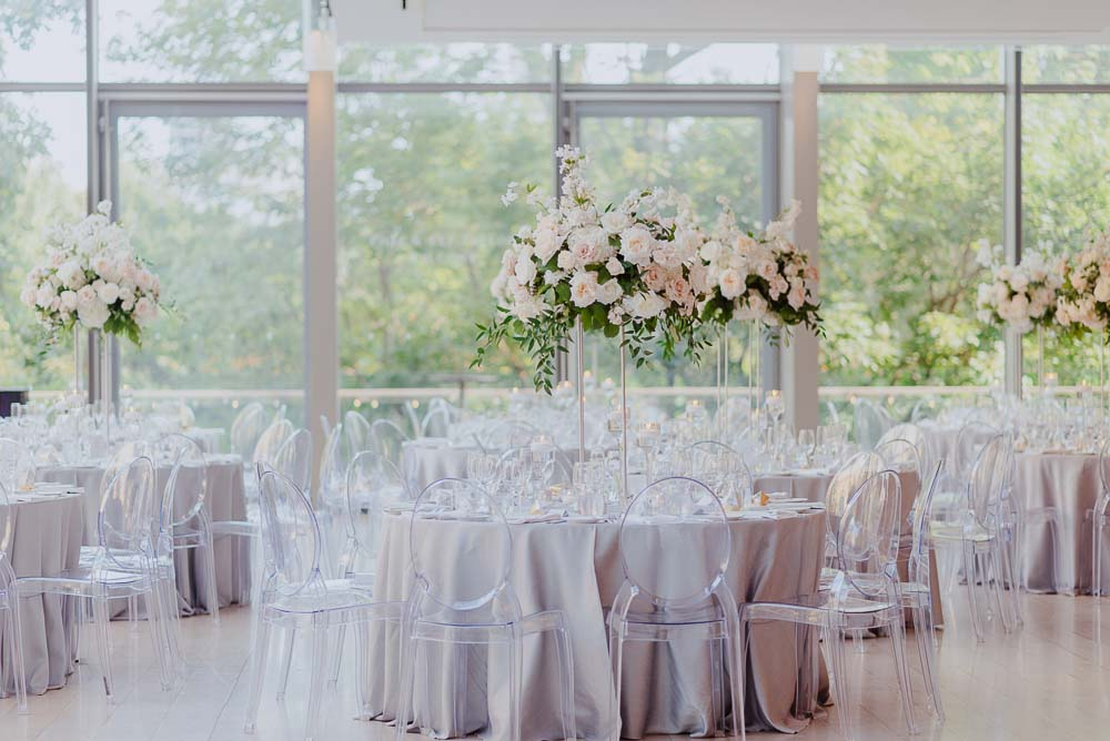 An Opulent Wedding At The Royal Conservatory Of Music - table