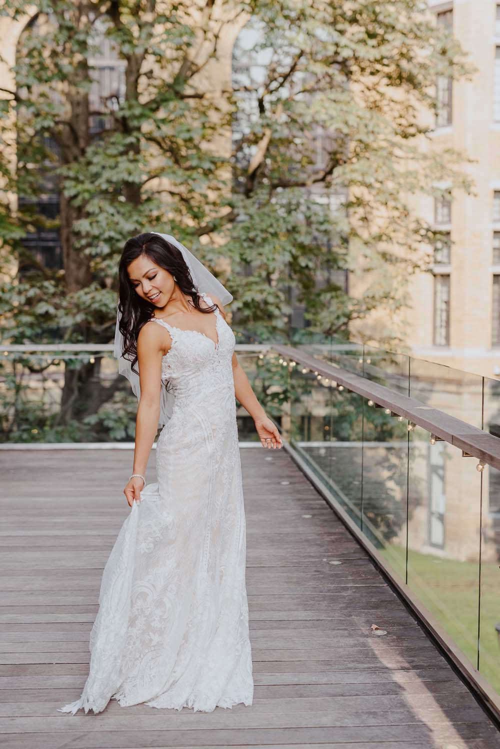 An Opulent Wedding At The Royal Conservatory Of Music - brides
