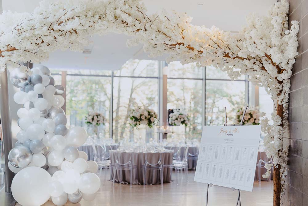 An Opulent Wedding At The Royal Conservatory Of Music - decor