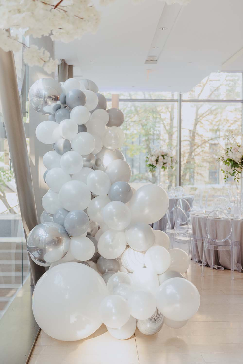An Opulent Wedding At The Royal Conservatory Of Music - balloons
