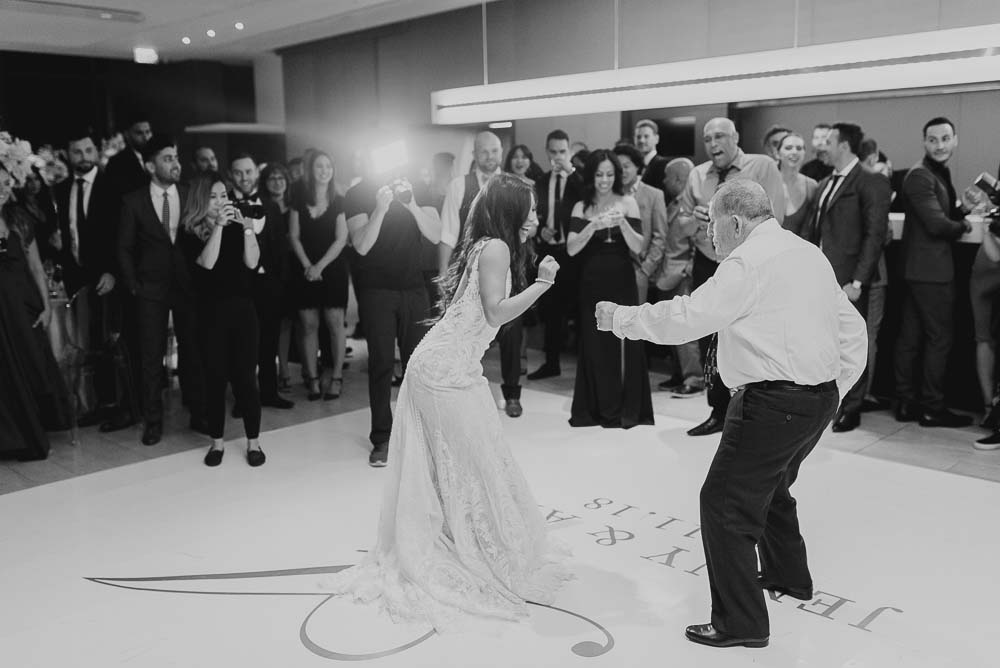 An Opulent Wedding At The Royal Conservatory Of Music - dancing