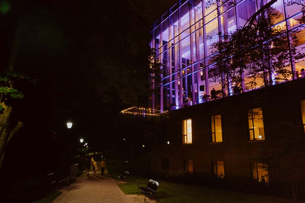 An Opulent Wedding At The Royal Conservatory Of Music - outside