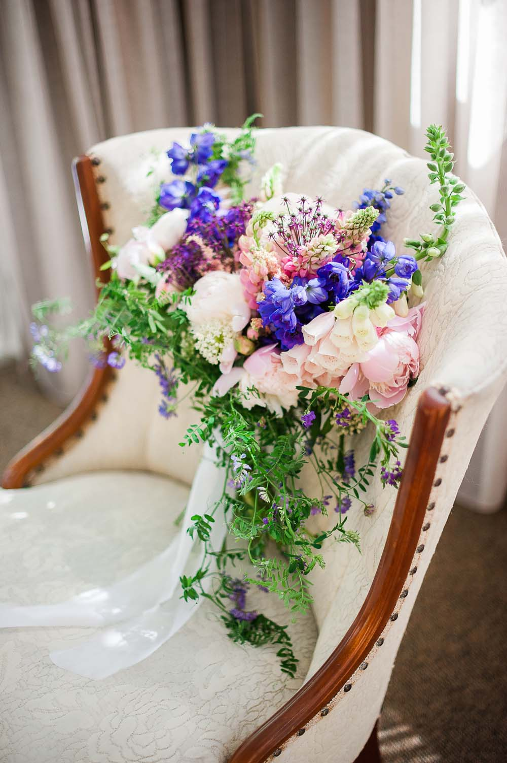 An Ultra Violet-Inspired Styled Shoot In Quebec - Chair
