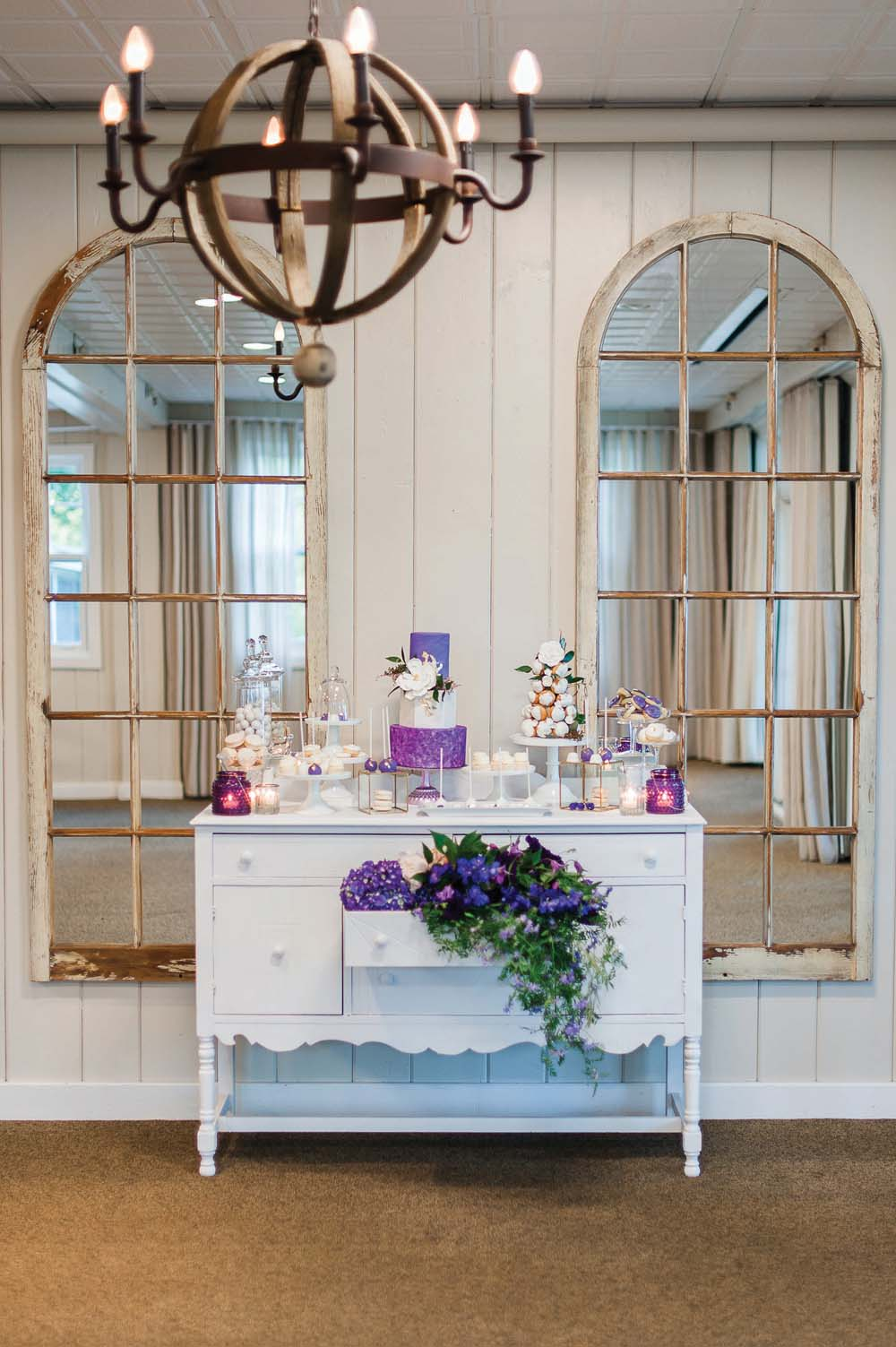 An Ultra Violet-Inspired Styled Shoot In Quebec - Drawer