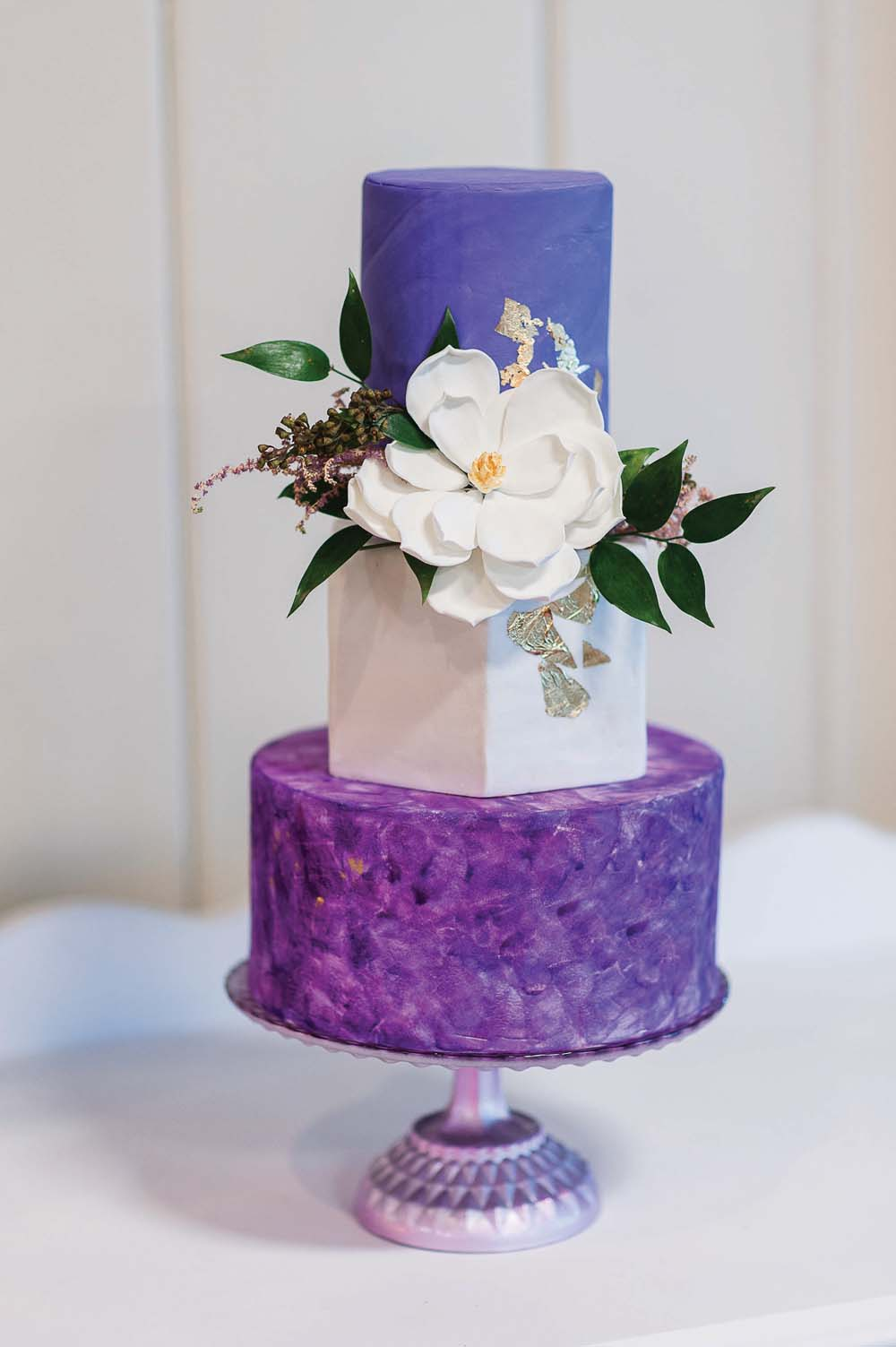 An Ultra Violet-Inspired Styled Shoot In Quebec - Cake