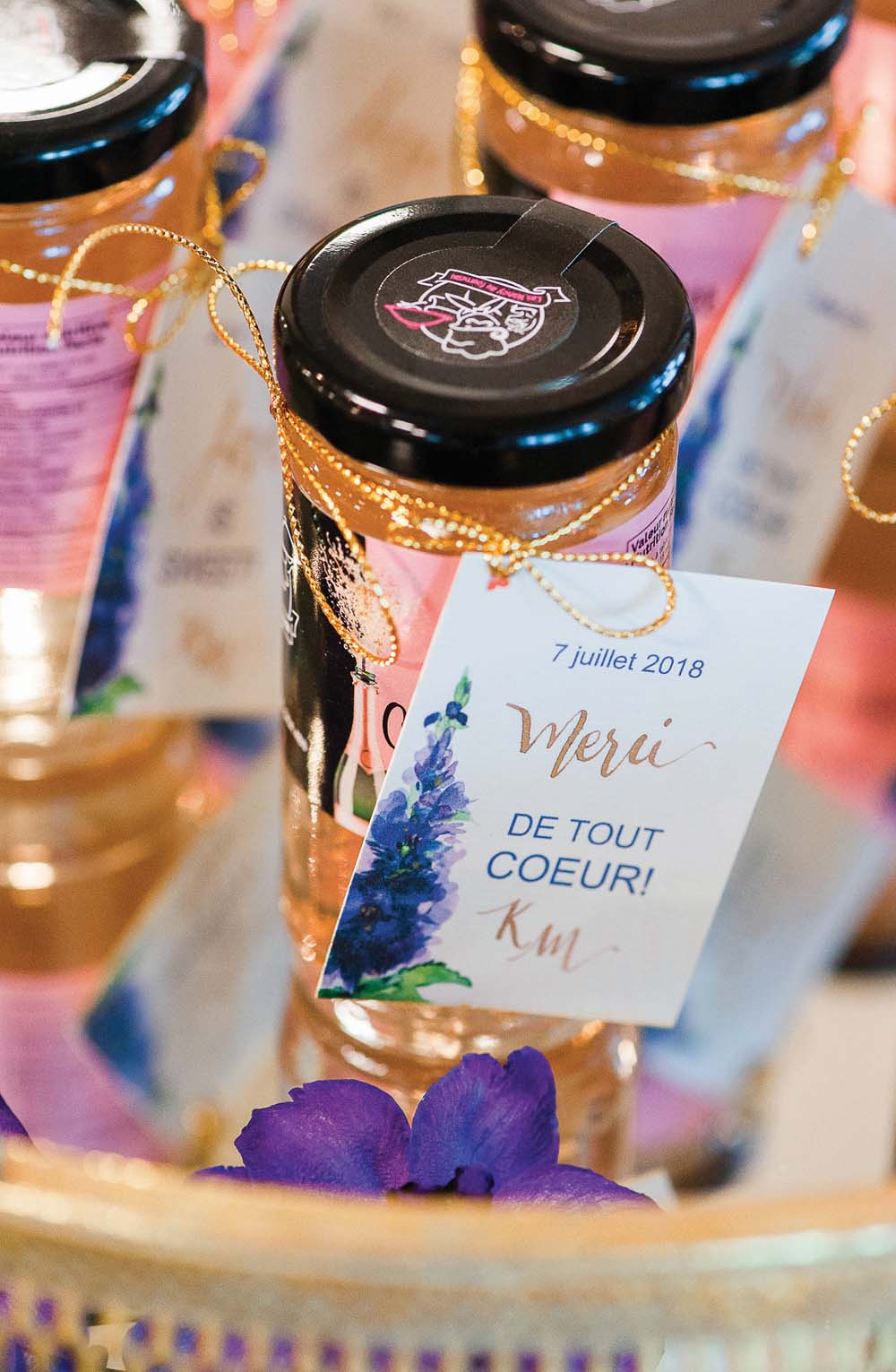 An Ultra Violet-Inspired Styled Shoot In Quebec - Jar