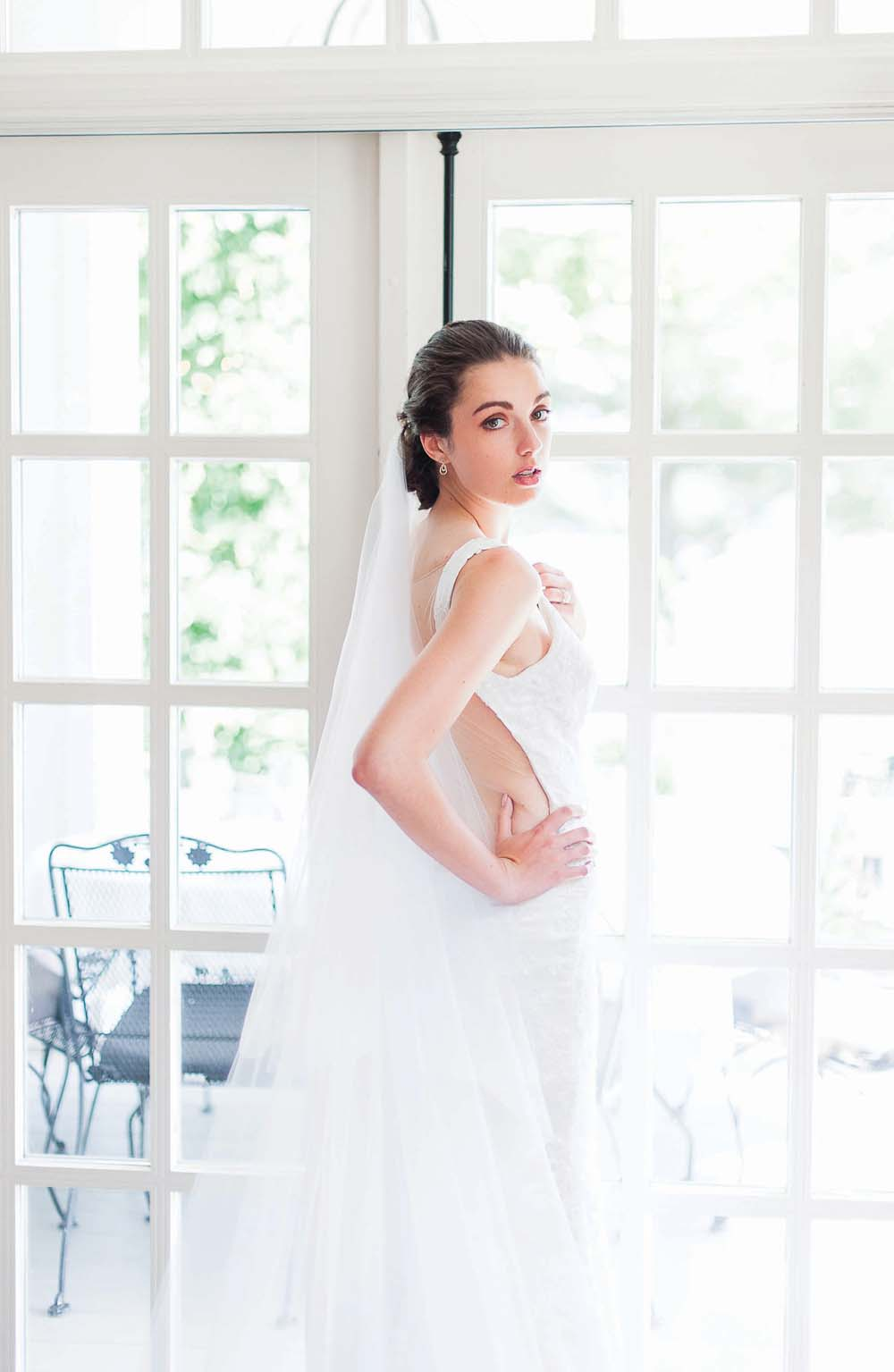 An Ultra Violet-Inspired Styled Shoot In Quebec - Bride