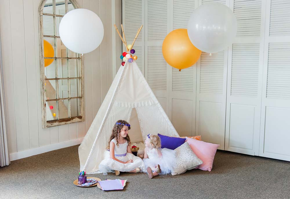 An Ultra Violet-Inspired Styled Shoot In Quebec - Teepee