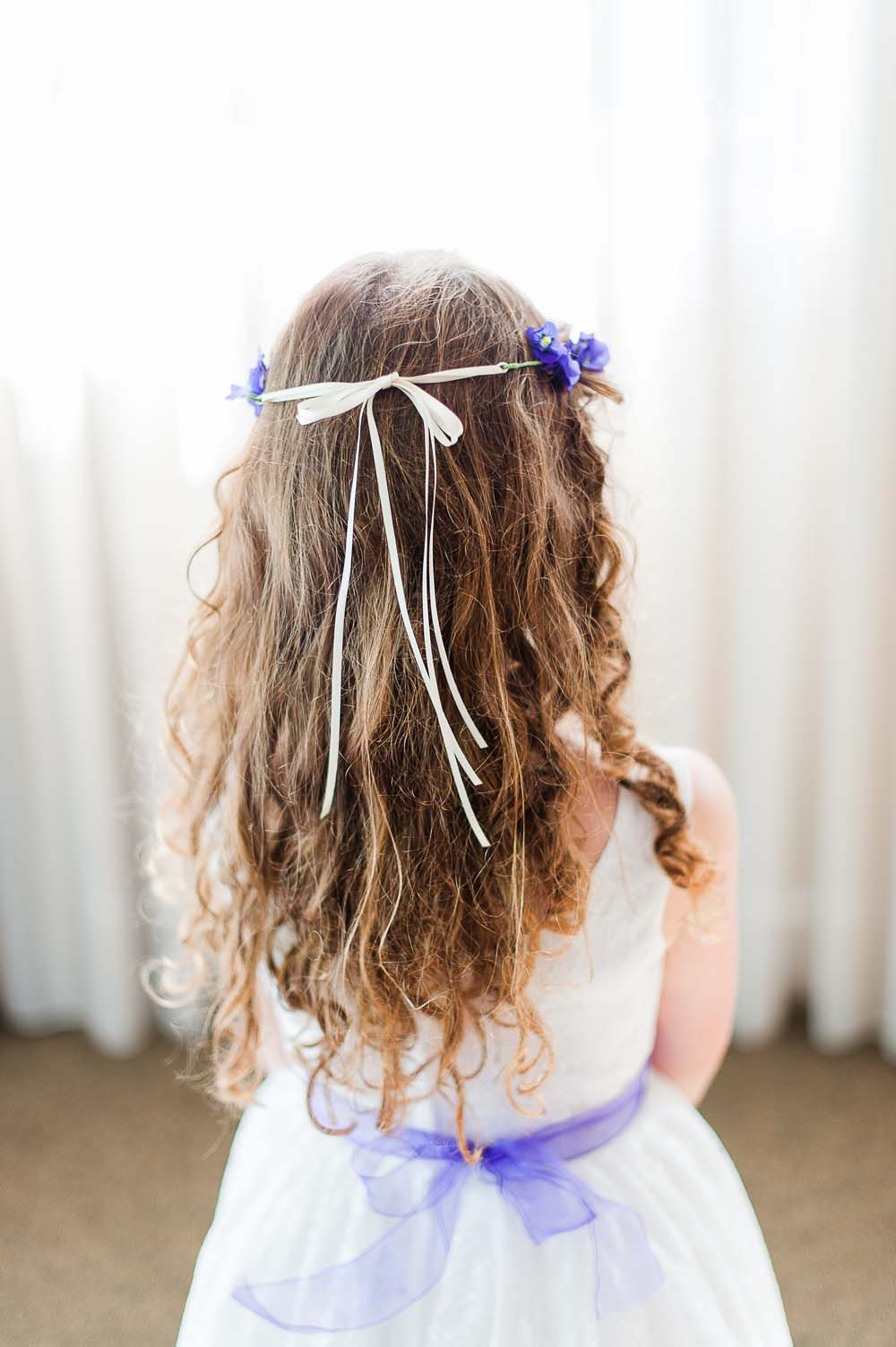 An Ultra Violet-Inspired Styled Shoot In Quebec - Hair