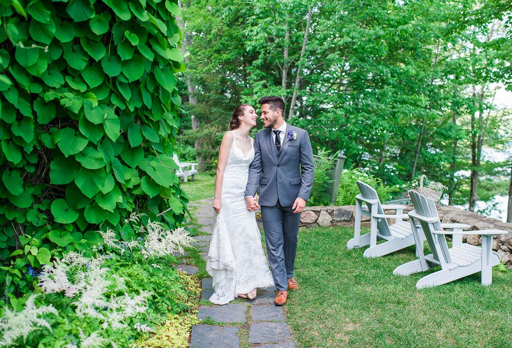 An Ultra Violet-Inspired Styled Shoot In Quebec - Couple