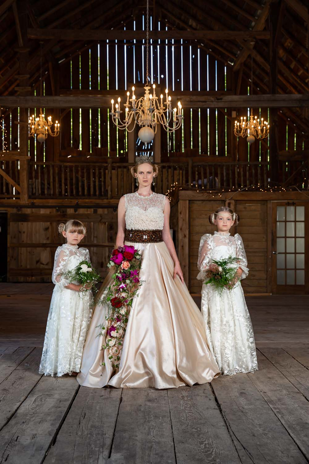 This Styled Shoot Was Inspired By Medieval Royalty - wedding party