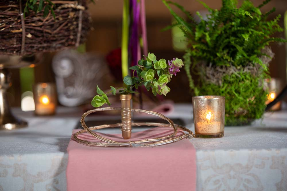 This Styled Shoot Was Inspired By Medieval Royalty - Table Setting