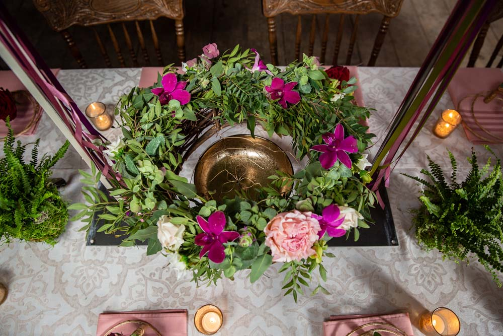 This Styled Shoot Was Inspired By Medieval Royalty - Wreath