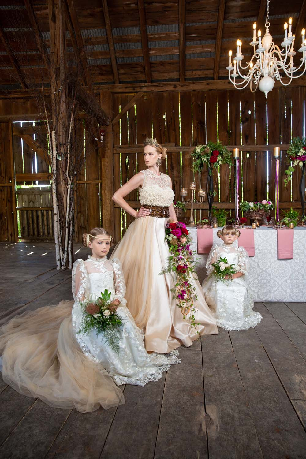 This Styled Shoot Was Inspired By Medieval Royalty - Bridal Party