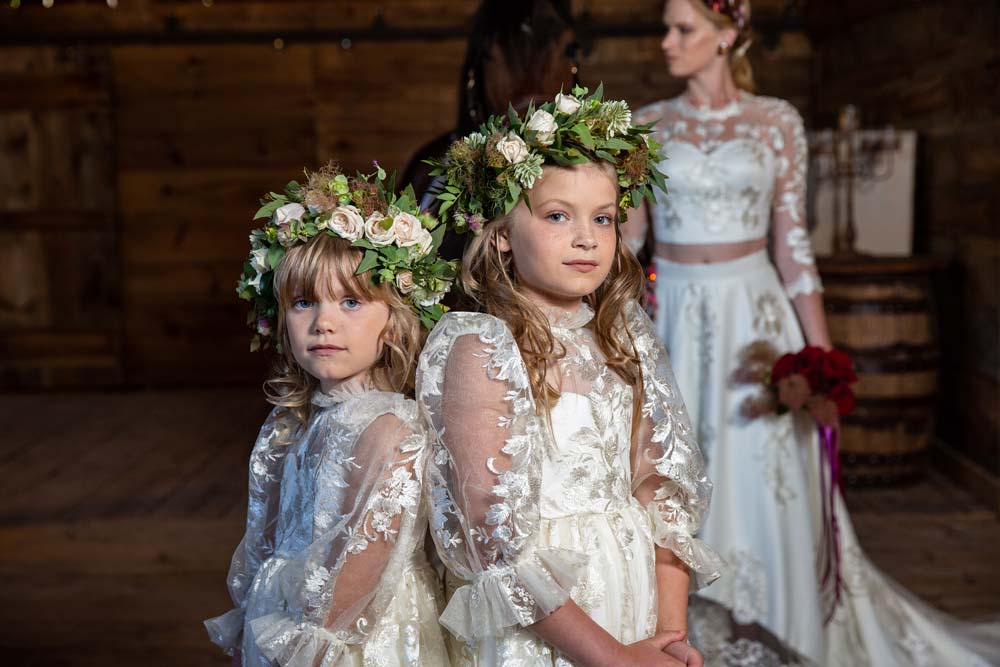 This Styled Shoot Was Inspired By Medieval Royalty - Flower Girls
